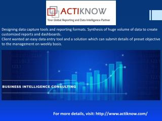 Advance Reporting Company