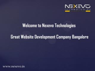 Great Website Development Company Bangalore