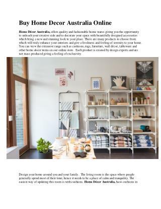 Buy home decor australia online