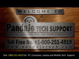 1800-251-4919 How to Repair Your PC, Computer, Laptop and Mobile Online?