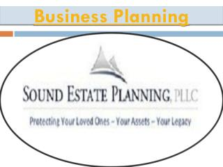Estate planning solutions in Puget Sound