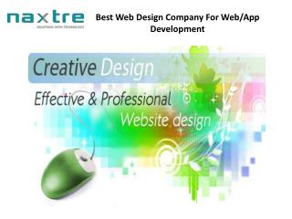 Web Design And Development Companies India