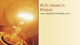 IELTS classes in Bhopal