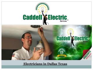 Electricians in Dallas Texas