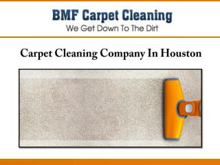 Carpet Cleaning Company In Houston