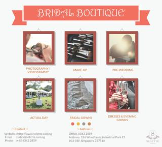 Bridal Boutique in Singapore -Selette bridal