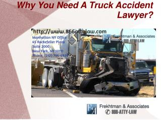 Consult Truck accident lawyer