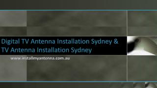 Digital TV Antenna Sydney