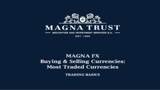 Magna Trust Company | Magna Fx Greece - Price Update