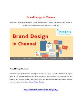 Brand Design in Chennai