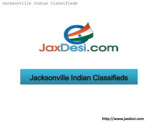Jacksonville indian classifieds