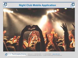 Mobile app Development for NightClubs