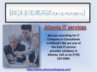 Atlanta network consulting