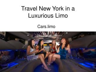 Travel New York in a Luxurious Limo