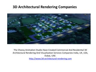 Residential 3D Architectural Rendering