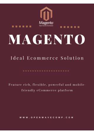 Ideal Ecommerce Platform