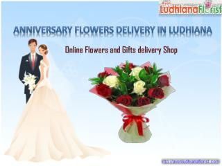 Anniversary Flowers Delivery In Ludhiana
