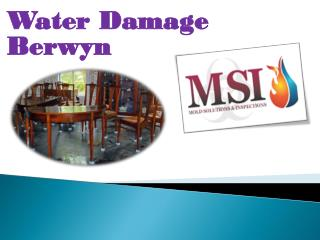 Water Damage Berwyn
