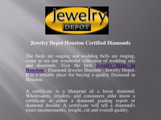Designer Diamond Ring In Houston