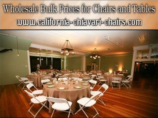 Metal Wholesale Chiavari Chairs