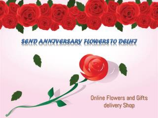 Anniversary Flowers Delivery In Delhi