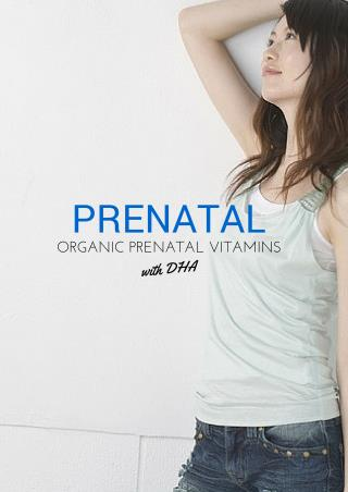 Organic Prenatal Vitamins with DHA
