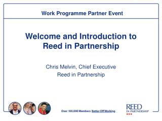 Work Programme Partner Event