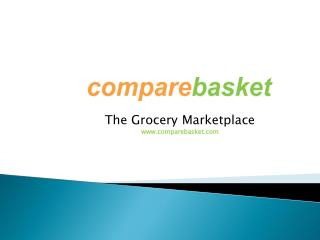Compare Basket: Online Shopping Store a new and unique price comparison site