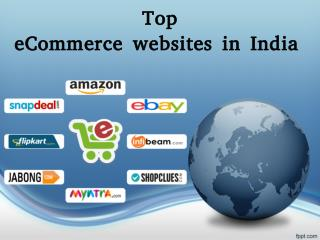 Top Ecommerce Websites in India
