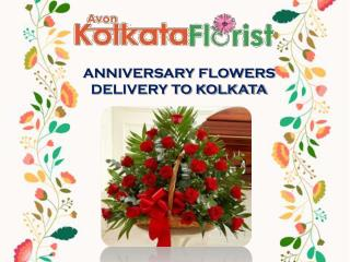 Anniversary Flowers Delivery in Kolkata