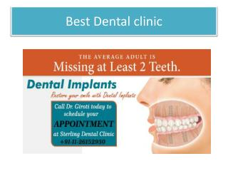 Specialized in Dental Care