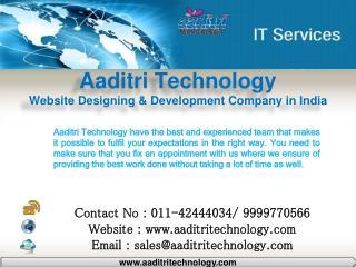 Website Designing & Development, Digital Marketing Company in Delhi