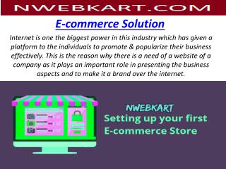 Create Your Online Store - Nwebkart