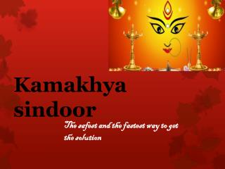 Use of Kamiya Sindoor at Navratri Puja Call-9582515505