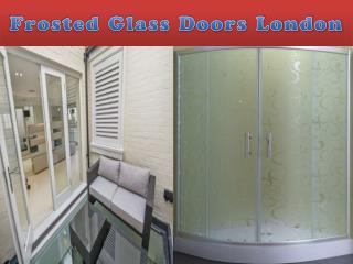 frosted glass doors london