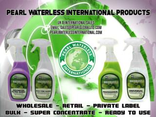 The International Waterless Car Wash & Detailing Products