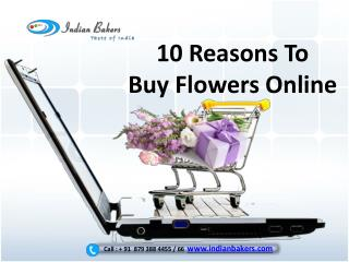 10 Reasons to Buy Flowers Online