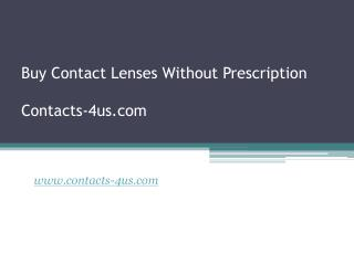 Buy Contact without Prescription