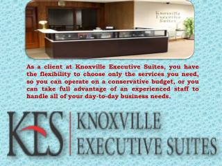 Knoxville Executive Suites | Office Space Rent Service Provider