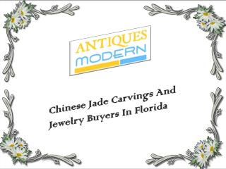 Chinese Jade Carvings And Jewelry Buyers In Florida