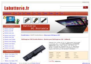 Dell Inspiron 1545 Portable Batterie