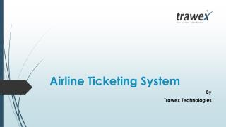 Airline Ticketing System