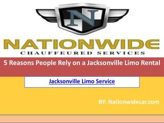 Jacksonville Limo Rental