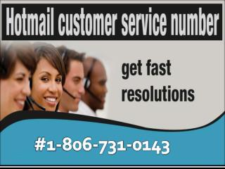Get setup your Hotmail account call Hotmail customer service 1-806-731-0143