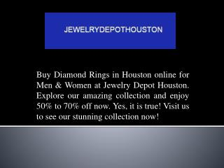 Elegant Diamond Rings In Houston