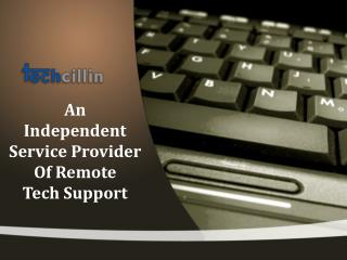 Techcillin - An Independent Remote Tech Support Provide Number 1-866-757-9494