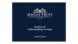 Magna Trust | Magna Trust Greece - Understanding  leverage