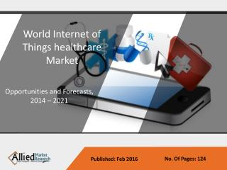 IoT Helathcare Market - Opportunities and Forecasts, 2014 -2021