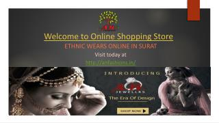Ethnic Wears Online in Surat