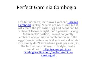 How will this Excellent Garcinia Cambogia  hurt your health?